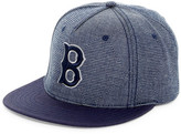 American Needle Indigo Go Bostons Red Sox Snapback Hat