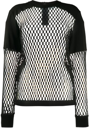 NO KA 'OI Mesh Long-Sleeved Top