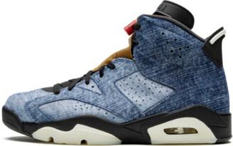 Jordan Air 6 'Black Washed Denim' Shoes - Size 7