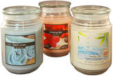 Asstd National Brand Scented Candles- Fresh Collection in 18oz Glass Jars (Set of 3)