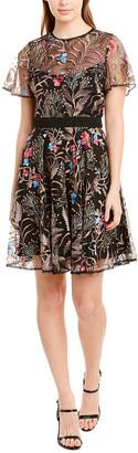 ML Monique Lhuillier A-Line Dress