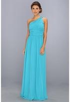 Donna Morgan One Shoulder Strapless Gown - Rachel
