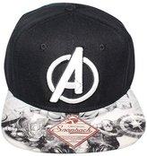 Bioworld Men's Licensed Avengers Sublimated Brim Snapback Hat O/S