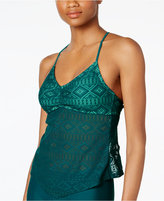 Hula Honey Crochet Tankini Top