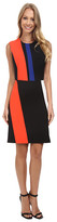 Vince Camuto Sleeveless Color Block Dress