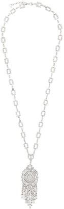 Christian Dior x Susan Caplan 1997 archive drop pendant crystal necklace