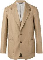 Tom Ford two button blazer - men - Silk/Cotton/Linen/Flax/Cupro - 50