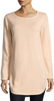Elliatt Territory Knit Sweater Tunic, Light Pink