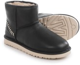 UGG Classic Mini Deco Boots - Leather, Wool Lined (For Men)
