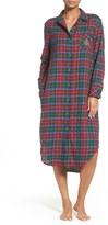 Lauren Ralph Lauren Women's Plaid Woven Sleep Shirt