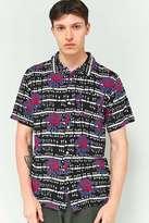 Obey Shredder Black Short-Sleeve Shirt