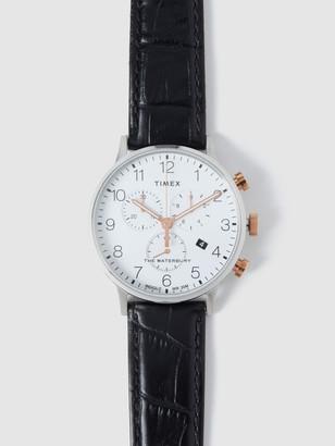 Timex 40mm Waterbury Chrono Watch