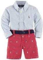 Ralph Lauren Shirt & Shorts (Baby Boys)