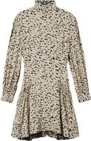 Proenza Schouler animal print long-sleeved dress