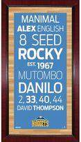 "Steiner Sports Denver Nuggets 32"" x 16"" Vintage Subway Sign"