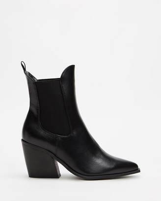 Therapy Women's Black Chelsea Boots - Josette - Size 6 at The Iconic