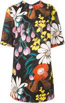 Marni Madder print dress - women - Cotton/Linen/Flax - 38