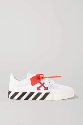 Off-White Arrow Canvas Sneakers