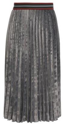 M Missoni Pleated Velvet Skirt