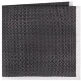 Ted Baker Men's Black & White Silk Pocket Square