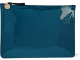 Clare Vivier Margo Patent-Leather Clutch