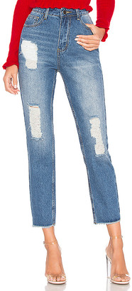 by the way. Sasha Distressed Jeans