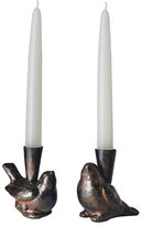 Jan Barboglio Two Cotorro Candlesticks