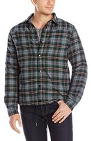 Threads 4 Thought Men's Reversible Nylon Flannel Shirt Jacket