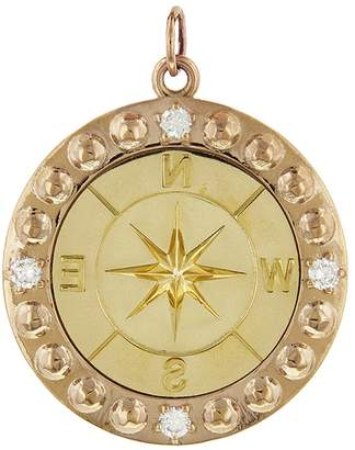 Foundrae Diamond Course Correction Medallion - Rose and Yellow Gold