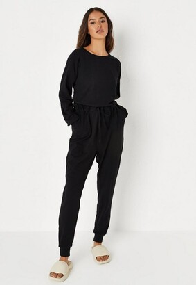 Missguided Casual Slouch Loungewear Playsuit