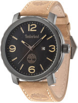 Timberland Men's Smithfield Brown Leather Strap Watch 46mm TBL14399XSU02
