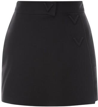 Valentino V-Detailed Shorts