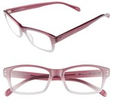 Corinne McCormack Women's 'Jess' 46Mm Reading Glasses - Pink/ Tortoise