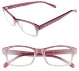 Corinne McCormack Women's 'Jess' 46Mm Reading Glasses - Violet Fade
