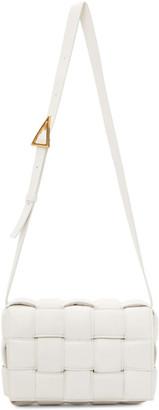 Bottega Veneta White Padded Cassette Bag