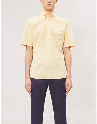 Eton Slim-fit cotton-seersucker shirt