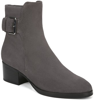 Via Spiga Ovelle Suede Block Heel Boot
