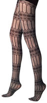 Versace Geometric Patterned Tights