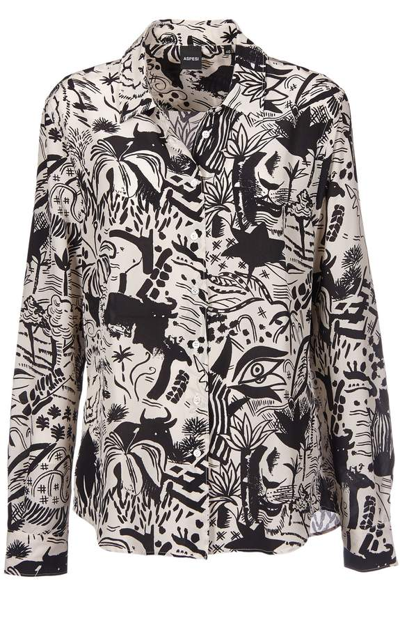 Aspesi All-over Print Jacket