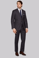 Moss Bros Tailored Fit Charcoal Twill Suit