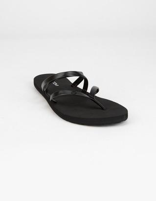 Volcom Easy Breezy II Womens Black Sandals