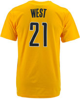 adidas Men's Short-Sleeve David West Indiana Pacers Player T-Shirt