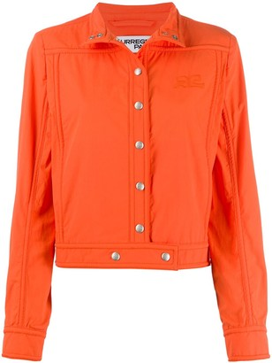 Courreges Single-Breasted Fitted Jacket