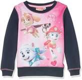 Nickelodeon Girl's Paw Patrol Calling The Pups Sweatshirt,(Manufacturer Size: 5 Years)