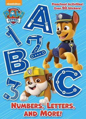 Golden Books Numbers, Letters, And More! (paw Patrol)