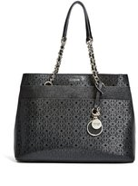 GUESS Janette Logo Girlfriend Satchel