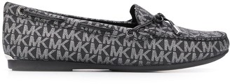 MICHAEL Michael Kors All-Over Logo Loafers