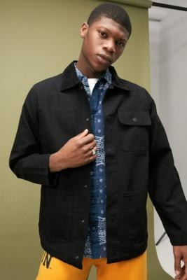 Vans Drill Chore Jacket - Black S at Urban Outfitters