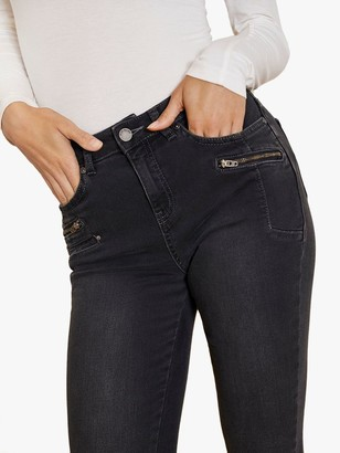 Mint Velvet Denver Skinny Biker Jeans