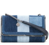 Stella McCartney denim patch Falabella shoulder bag - women - Cotton - One Size
